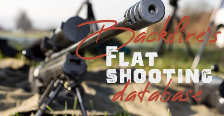 The Flattest-Shooting Rifle Cartridges: A handy table