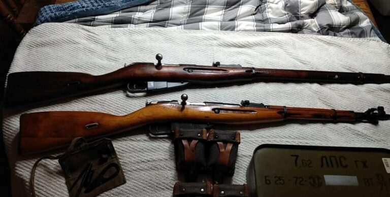 Mosin Nagant Recoil – It's like getting kicked by a mule